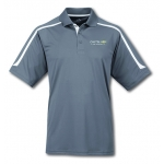 Dealer Personalized Grey/White Ultracool Polo