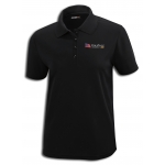 Dealer Personalized Ladies Black Performance Pique Polo