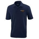 Dealer Personalized Classic Navy Performance Pique Polo