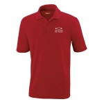 Dealer Personalized Classic Red Performance Pique Polo