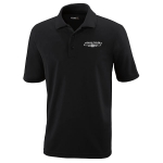 Dealer Personalized Black Performance Pique Polo