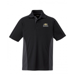 Dealer Personalized Black/Grey Color Block Polo