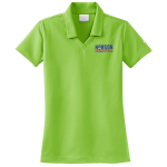 Dealer Personalized NIKE Golf Dri-Fit Micro Pique Mean Green