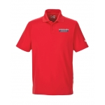 Dealer Personalized Under Armour Red Perf Polo