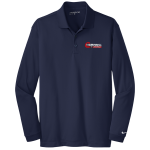 Dealer Personalized NIKE L/S Dri-Fit Polo Navy