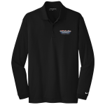 Dealer Personalized NIKE L/S Dri-Fit Polo Black