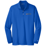 Dealer Personalized NIKE L/S Dri-Fit Polo Blue