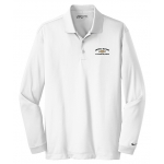 Dealer Personalized Ladies NIKE L/S Dri-Fit Polo White