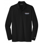 Dealer Personalized Ladies NIKE L/S Dri-Fit Polo Black