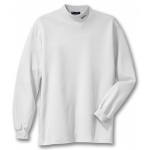 Dealer Personalized White Mock Turtleneck