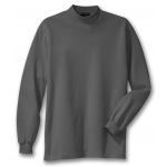 Dealer Personalized Steel Grey Mock Turtleneck