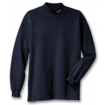 Dealer Personalized Navy Mock Turtleneck