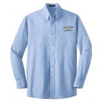 Dealer Personalized Light Blue L/S Value Poplin Shirt