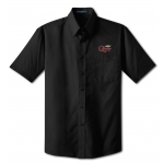 Dealer Personalized Black Poplin Shirt