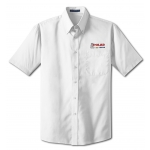 Dealer Personalized White Poplin Shirt