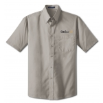Dealer Personalized Grey Poplin Shirt
