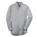 Dealer Personalized Men's Charcoal Plaid EZ Care Shirt