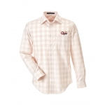 Dealer Personalized Stone Plaid Button Up Shirt