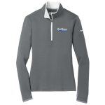 Dealer Personalized Ladies NIKE 1/2 Zip Grey/White