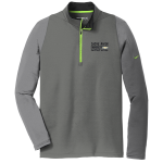 Dealer Personalized NIKE 1/2 Zip Grey/Chartreuse
