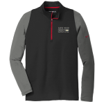 Dealer Personalized NIKE 1/2 Zip Grey/Blk/Red