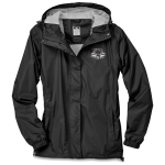 Ladies Waterproof/Breathable/Packable Jacket Black