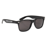 Dealer Personalized Black Malibu Sunglasses