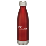 Dealer Personalized Red Stainless Steel Vacuum Bottle. Min order