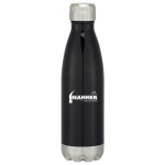 Dealer Personalized Black Stainless Steel Vacuum Bottle. Min order