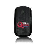 Dealer Personalized Wireless Mouse w/ Carbon Fiber Background.