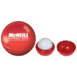 Dealer Personalized Lip Moisturizer Ball - Red