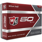 Dealer Personalized Wilson Staff 50 Elite Price Includes 1 Location/ 5 Spot Color Imprint