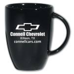 Dealer Personalized Black 12 oz. Europa Mug
