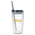 Dealer Personalized Black 16 oz. Double Wall Tumbler