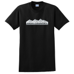 Black High Country T-Shirt