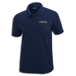 High Country Classic Navy Performance Pique Polo