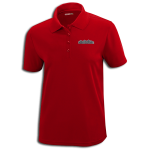High Country Classic Red Performance Pique Polo