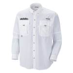 High Country White Columbia Bahama II Shirt
