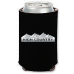 High Country Black Neoprene Can Holder