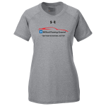Ladies Milford Proving Ground Under Armour Locker Tee True Grey