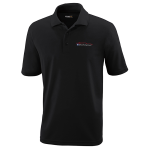 Milford Proving Ground Black Performance Pique Polo