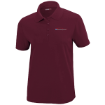 Ladies Milford Proving Ground Burgundy Performance Pique Polo