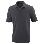 Milford Proving Ground Carbon Gray Performance Pique Polo