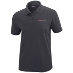 Ladies Milford Proving Ground Carbon Gray Performance Pique Polo