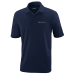 Milford Proving Ground Classic Navy Performance Pique Polo