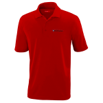 Milford Proving Ground Classic Red Performance Pique Polo