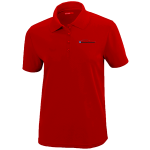 Ladies Milford Proving Ground Classic Red Performance Pique Polo