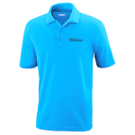 Milford Proving Ground Electric Blue Performance Pique Polo