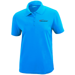 Ladies Milford Proving Ground Electric Blue Performance Pique Polo