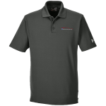 Milford Proving Ground Under Armour Performance Graphite Gray Polo